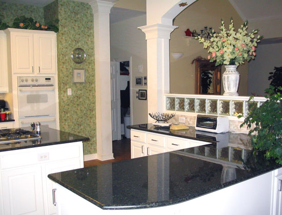 It Was A Beautiful Granite Professionally Installed At A Reasonable Price.
